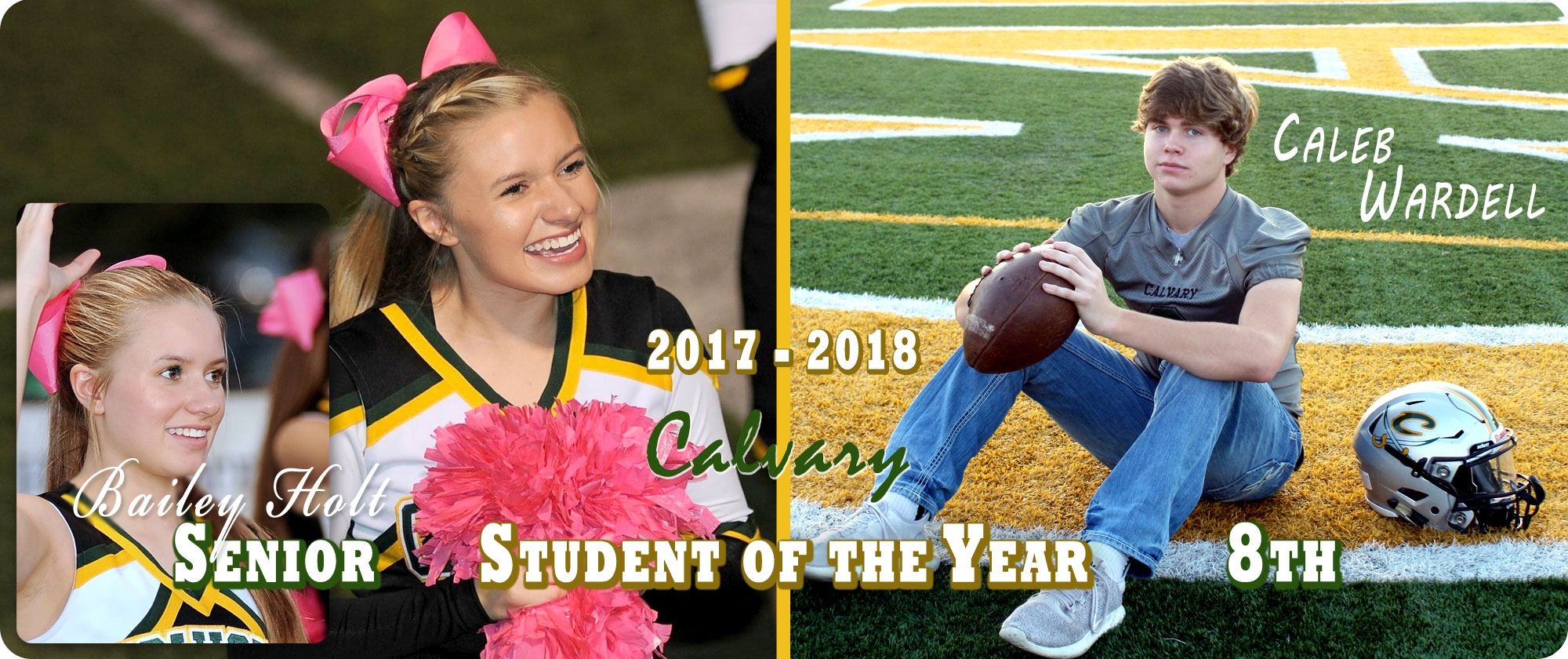 Calvary Student of the Year 2017 - 2018